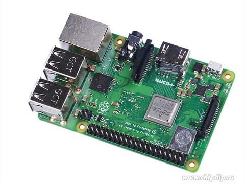Мини-компьютер Raspberry Pi 3 Model B+