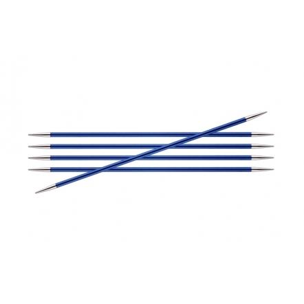 Спицы KnitPro Zing чулочные 4,0 мм/20 см 47039