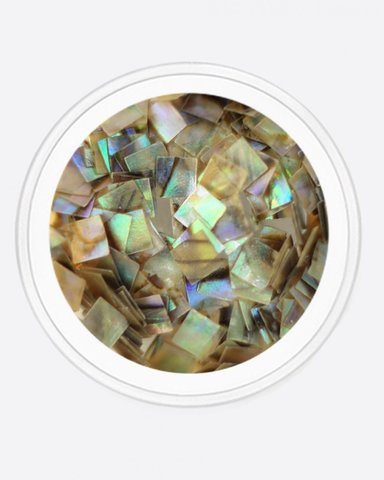 ARTEX Ракушка геометрия, квадрат (радужный)