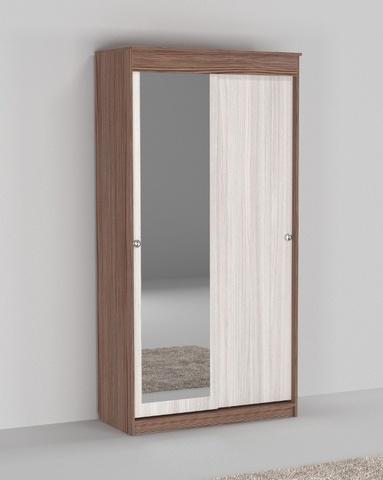 Шкаф-купе СЕНТ-3 с зеркалом правый /1200*2200*633/