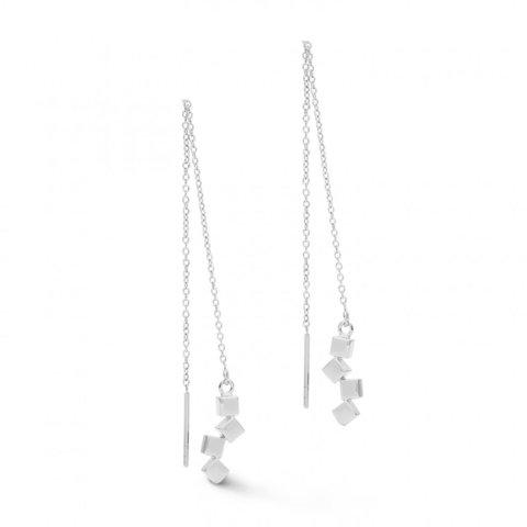 Серьги Silver 5070/20-1700 цвет серебряный