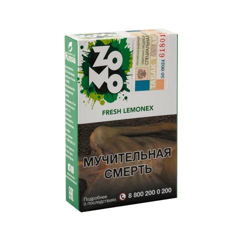 Табак ZOMO Fresh Lemonex (Кисло Сладкий Лайм) 50 г