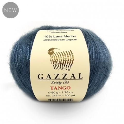 GAZZAL Tango (10% мериносовая шерсть, 70% Полиамид, 20% Полиакрил, 50гр/275м)
