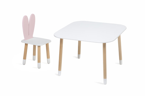 Детский стульчик Mini (Зайчик)