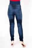 Джинсы для беременных (SLIM) 09814 синий