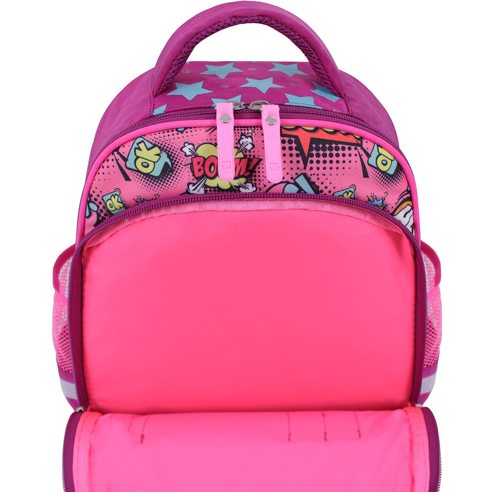 Рюкзак школьный Bagland Mouse 143 малиновый 510 (0051370) фото 5