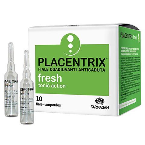 Farmagan Placentrix: Лосьон тонизирующий против выпадения волос в ампулах (Fresh Lotion Tonic Action), 10*7,5мл
