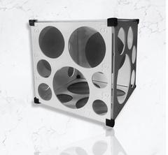 Кубический калибратор (Белый), 8 стенок.