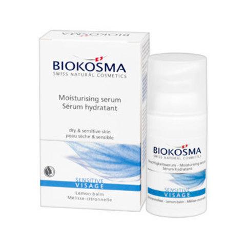 Увлажняющая сыворотка для лица СЕНСИТИВ Biokosma, 30 мл