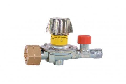 Регулятор давления GOK 0,5-4 бар 12кг/ч, защита SBS, универсальный вентиль Kombi