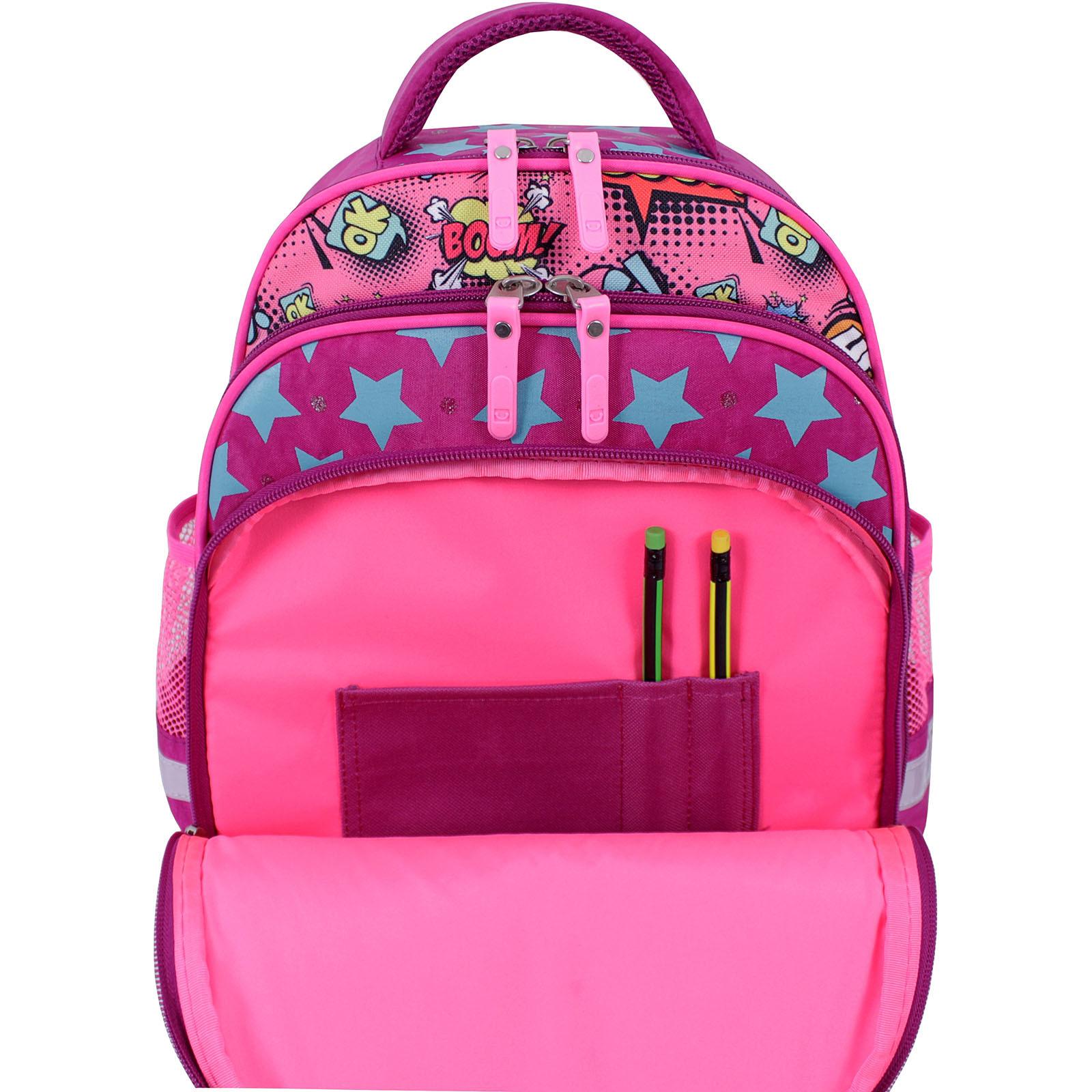 Рюкзак школьный Bagland Mouse 143 малиновый 510 (0051370) фото 6