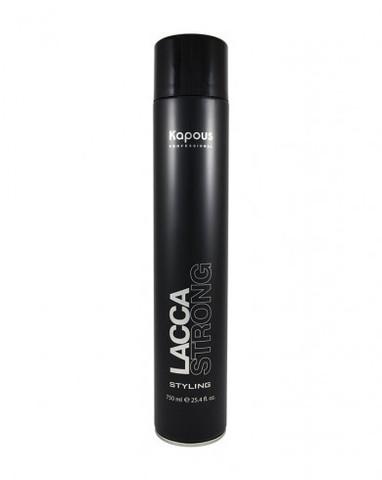 Лак аэрозольный для волос сильной фиксации «Lacca Strong», 750 мл