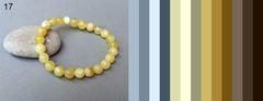 варианты подходящих цветов одежды под браслет из натурального янтаря