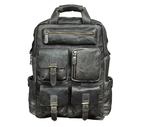 Кожаный мужской рюкзак Maverick Perfect