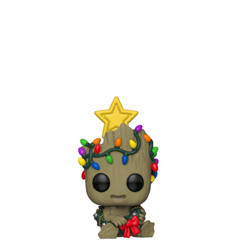 Фигурка Funko POP! Bobble: Marvel: Holiday: Groot