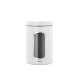 Контейнер для сыпучих продуктов с окном (1,4 л), Белый, артикул 306082, производитель - Brabantia