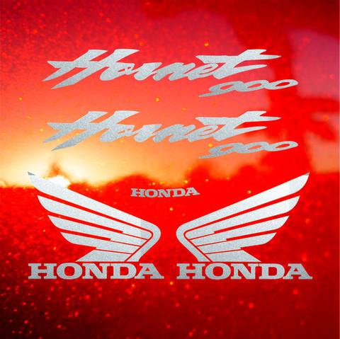Набор виниловых наклеек на мотоцикл HONDA CB900F HORNET 2002