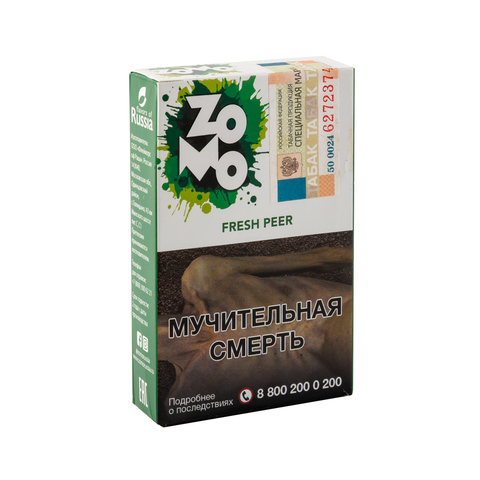 Табак ZOMO Fresh Peer (Дюшес Лед) 50 г