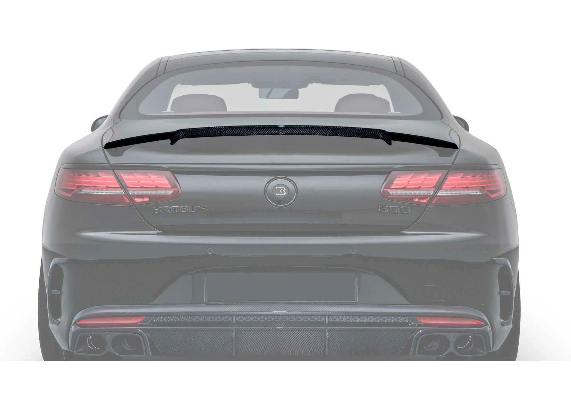 Карбоновый спойлер крышки багажника S coupe c217