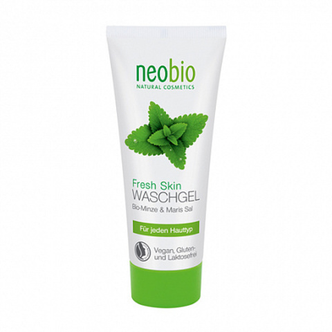 Neobio, Fresh skin очищающий гель, 100мл