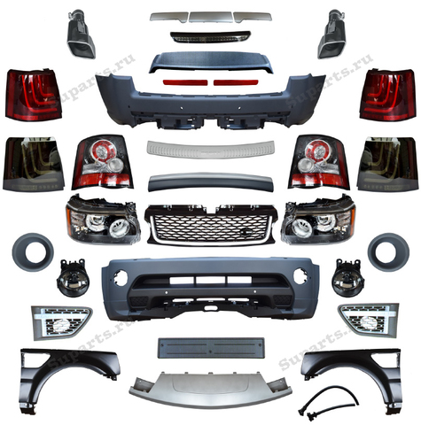 Комплект обвеса Range Rover Sport Autobiography 2010-2013 SPORT