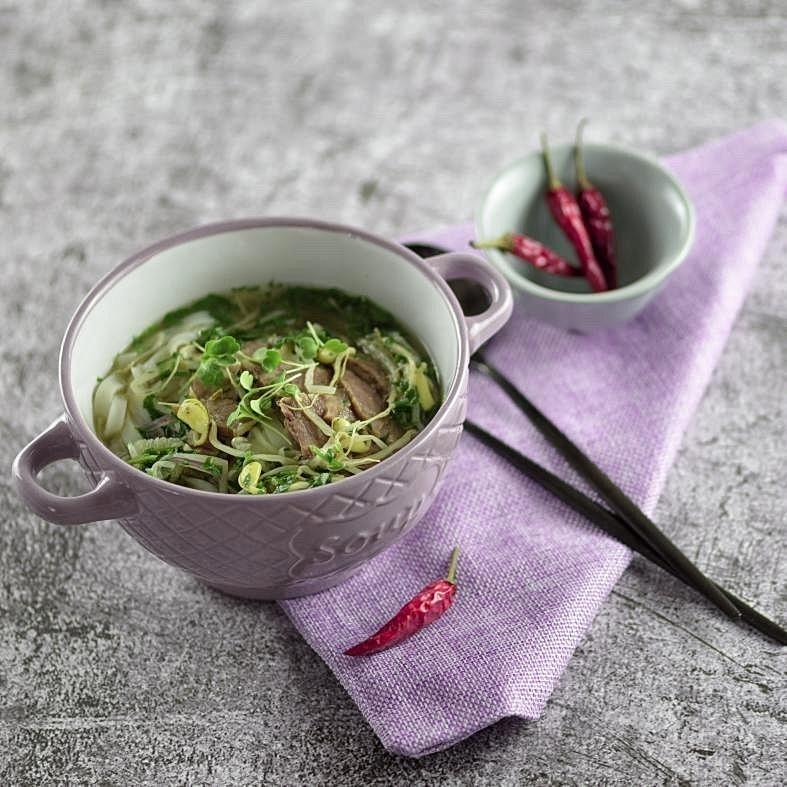 Фотография Вьетнамский суп Фо Бо / 350 мл купить в магазине Афлора
