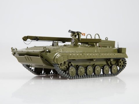 Tank BREM-2 Armoured recovery vehicle Our Tanks #50 MODIMIO Collections