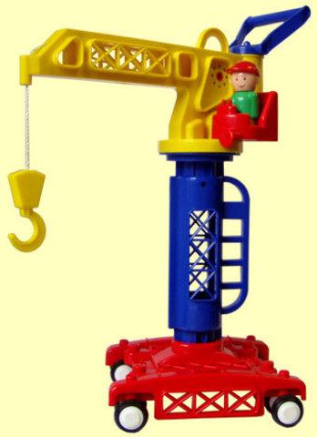 Башенный кран игрушка