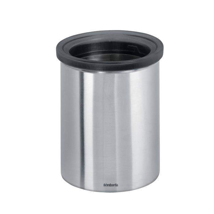 Настольный контейнер для мусора, Стальной матовый, арт. 371424 - фото 1