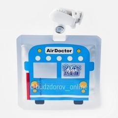 ВирусСтопер для детей -бейдж на прищепке (машинка) Air Doctor (1 кв м, 30 дней)