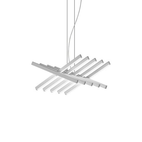 Подвесной светильник Rhythm by Vibia L48 (белый)
