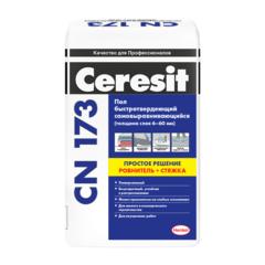 Наливной пол Ceresit CN173 6-60 мм самонивелирующийся, 20 кг