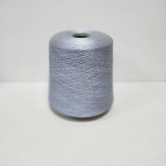Opacum, Шёлк 100%, Светло-голубой меланж, 2/60, 3000 м в 100 г