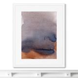 Marina Sturm - Репродукция картины в раме Lake in the rain