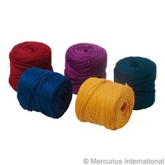 Ленты трикотажные хлопковые для ткацких станков (Mercurius) основные цвета