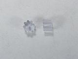 Заглушки для серег, 4x3 мм, пластиковые, 1 пара