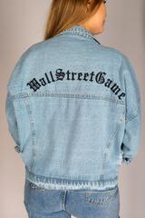 Джинсовая куртка с вышивкой на спине интернет магазин