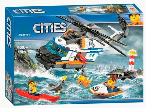 Конструктор Urban 10754 Сверхмощный спасательный вертолет