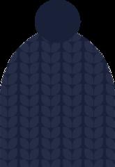 Шапка Nordski Knit Dark Blue