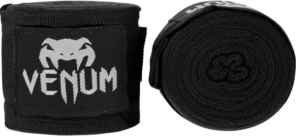 Капы и бинты Бинты для ММА Venum Kontact 2,5m - Black 1.jpg