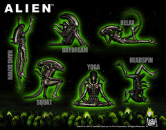 Alien Big Chap mini figures