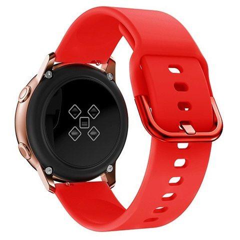Силиконовый ремешок для Samsung Galaxy Watch Active 2 20мм (Red)