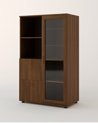 Шкаф ГР-01-г орех темный