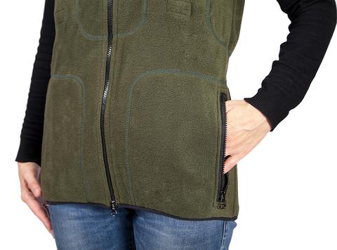 У жилета с подогревом имеются два стандартных кармана