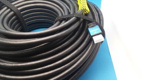Кабель HDMI 50 метров Активный с усилителем - Кабель  провод  шнур HDMI-HDMI 50М