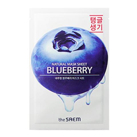 the Saem Natural Blueberry Mask Sheet