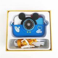 Детский цифровой фотоаппарат Микки подарочная упаковка