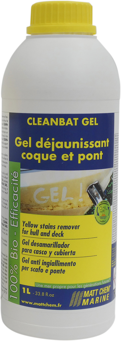 Remover for gelcoat and paint Cleanbat Gel