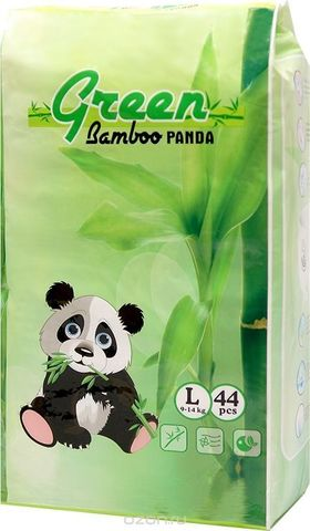 Трусики Green Bamboo Panda, 9-14 кг (L)