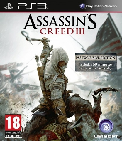 Assassin's Creed III (PS3, русская версия)